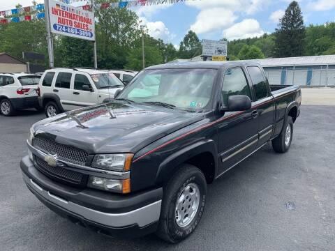 2003 Chevrolet Silverado 1500 for sale at INTERNATIONAL AUTO SALES LLC in Latrobe PA