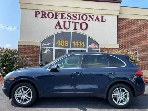 2013 Porsche Cayenne for sale at Professional Auto Sales & Service in Fort Wayne IN