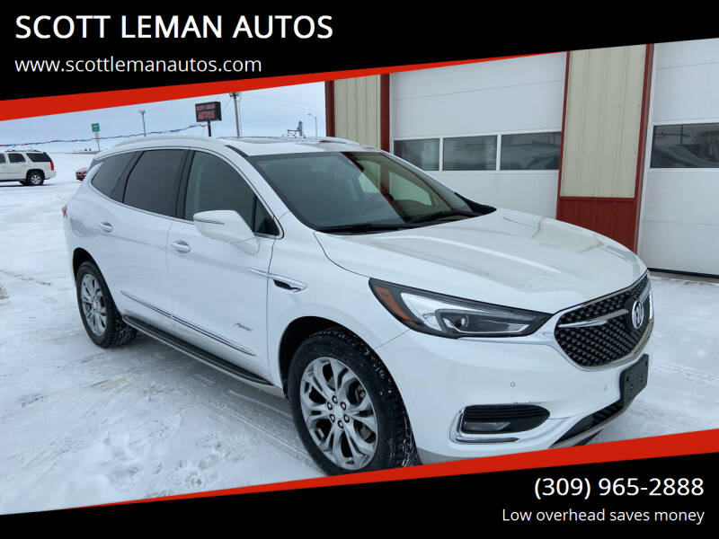 2018 Buick Enclave for sale at SCOTT LEMAN AUTOS in Goodfield IL
