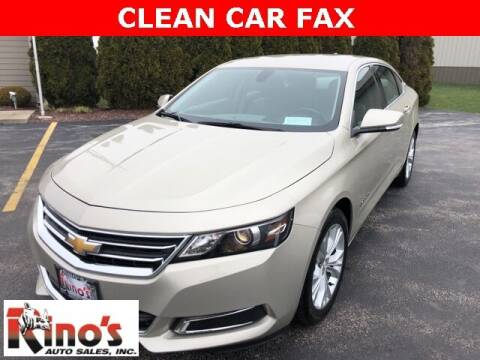 2015 Chevrolet Impala for sale at Rino's Auto Sales in Celina OH