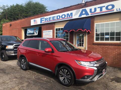 2019 Mitsubishi Outlander for sale at FREEDOM AUTO LLC in Wilkesboro NC