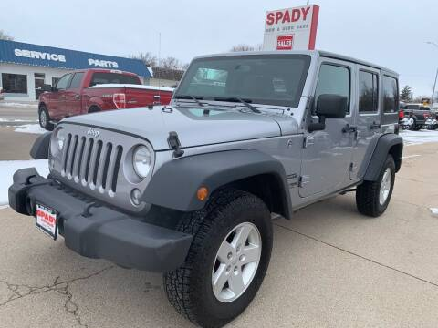 2018 Jeep Wrangler JK Unlimited for sale at Spady Used Cars in Holdrege NE
