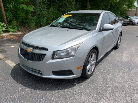 2014 Chevrolet Cruze for sale at Diana Rico LLC in Dalton GA