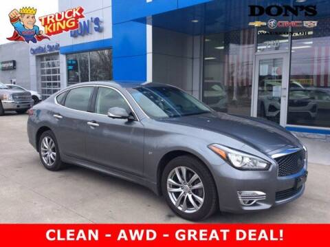 2016 Infiniti Q70 for sale at DON'S CHEVY, BUICK-GMC & CADILLAC in Wauseon OH