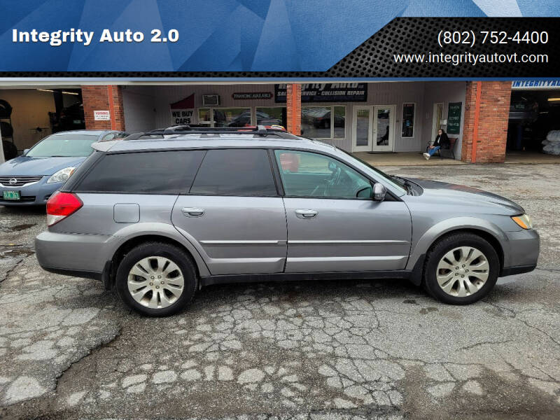 2009 Subaru Outback for sale at Integrity Auto 2.0 in Saint Albans VT