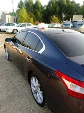 2009 Nissan Maxima for sale at Finish Line Auto LLC in Luling LA