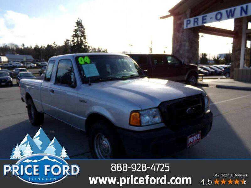 2004 Ford Ranger for sale at Price Ford Lincoln in Port Angeles WA