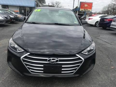 2018 Hyundai Elantra for sale at Dad's Auto Sales in Newport News VA