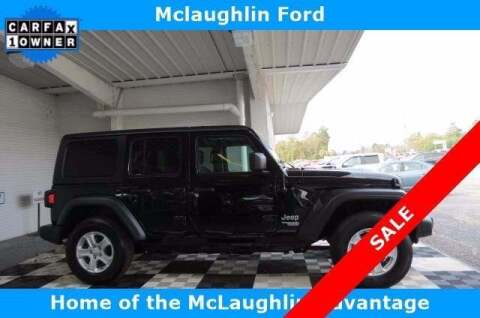 2019 Jeep Wrangler Unlimited for sale at McLaughlin Ford in Sumter SC