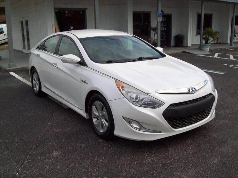 2015 Hyundai Sonata Hybrid for sale at LONGSTREET AUTO in St Augustine FL