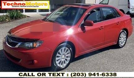 2009 Subaru Impreza for sale at Techno Motors in Danbury CT