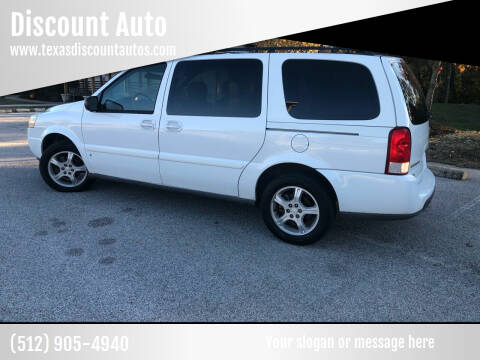 2007 Chevrolet Uplander for sale at Discount Auto in Austin TX