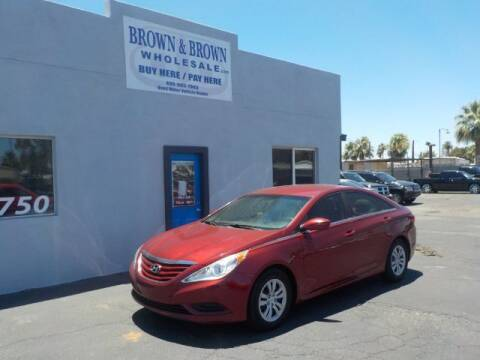 2011 Hyundai Sonata for sale at Brown & Brown Wholesale in Mesa AZ