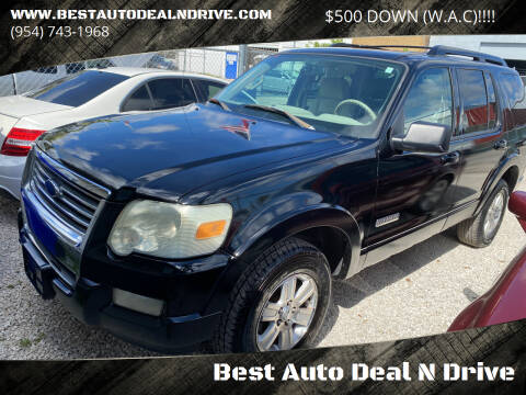 2006 Ford Explorer for sale at Best Auto Deal N Drive in Hollywood FL