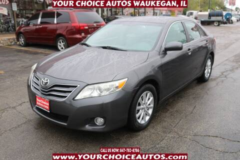 2011 Toyota Camry for sale at Your Choice Autos - Waukegan in Waukegan IL