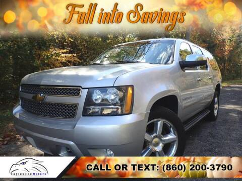 2011 Chevrolet Suburban for sale at EAGLEVILLE MOTORS LLC in Storrs Mansfield CT