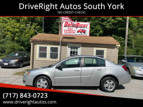 2007 Saturn Ion for sale at DriveRight Autos South York in York PA