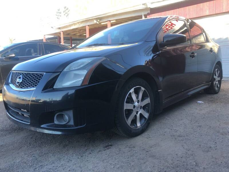 2012 Nissan Sentra for sale at Fast Trac Auto Sales in Phoenix AZ