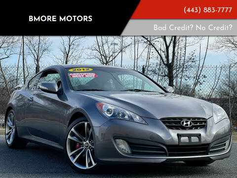 2012 Hyundai Genesis Coupe for sale at Bmore Motors in Baltimore MD