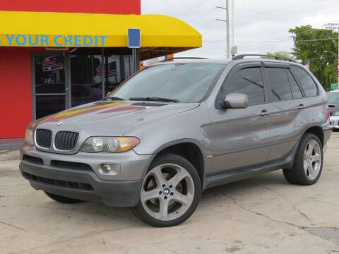 2005 BMW X5 for sale at DK Auto Sales in Hollywood FL