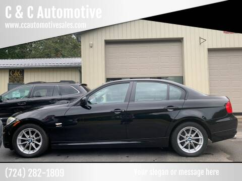 2010 BMW 3 Series for sale at C & C Automotive in Chicora PA
