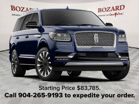 2021 Lincoln Navigator for sale at BOZARD FORD in Saint Augustine FL