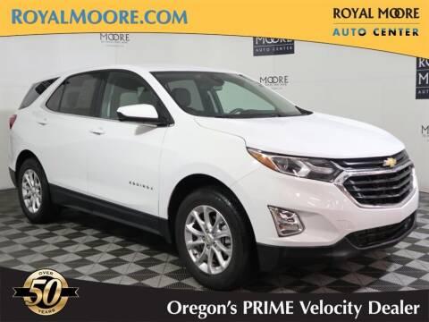 2020 Chevrolet Equinox for sale at Royal Moore Custom Finance in Hillsboro OR