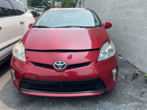 2012 Toyota Prius for sale at Blue Star Cars in Jamesburg NJ