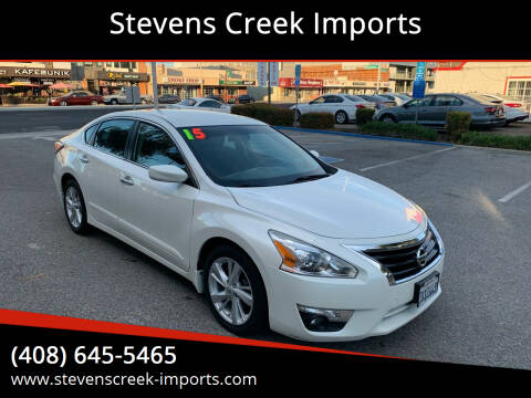 2015 Nissan Altima for sale at Stevens Creek Imports in San Jose CA