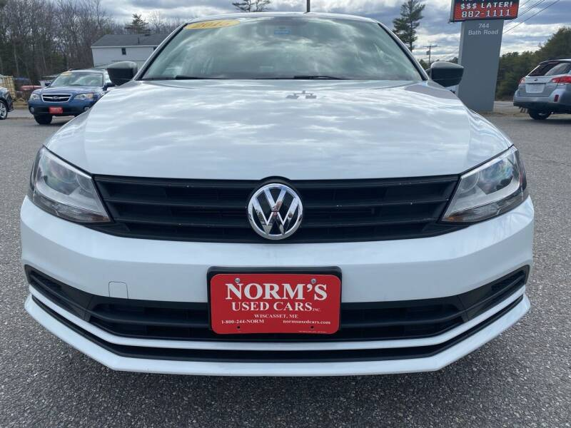 2015 Volkswagen Jetta for sale at NORM'S USED CARS INC - Trucks By Norm's in Wiscasset ME