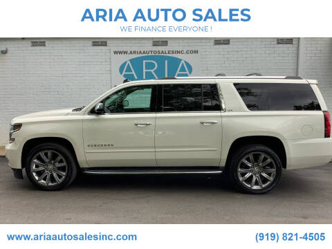 2015 Chevrolet Suburban for sale at ARIA  AUTO  SALES in Raleigh NC