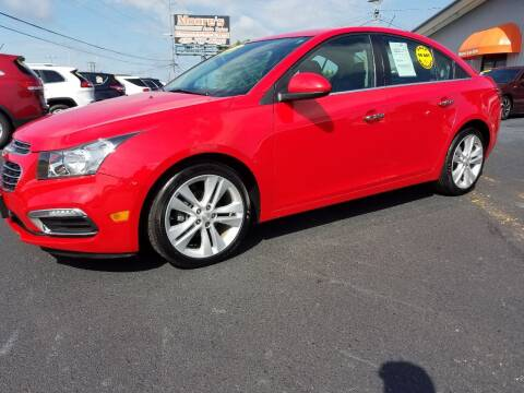 2016 Chevrolet Cruze Limited for sale at Moores Auto Sales in Greeneville TN