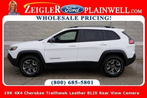 2019 Jeep Cherokee for sale at Zeigler Ford of Plainwell- Jeff Bishop in Plainwell MI