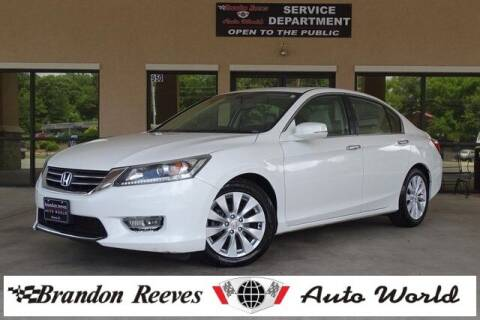 2015 Honda Accord for sale at Brandon Reeves Auto World in Monroe NC