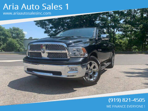 2009 Dodge Ram Pickup 1500 for sale at ARIA  AUTO  SALES in Raleigh NC