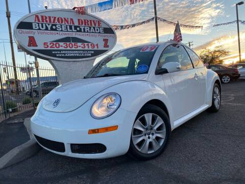 2009 Volkswagen New Beetle for sale at Arizona Drive LLC in Tucson AZ