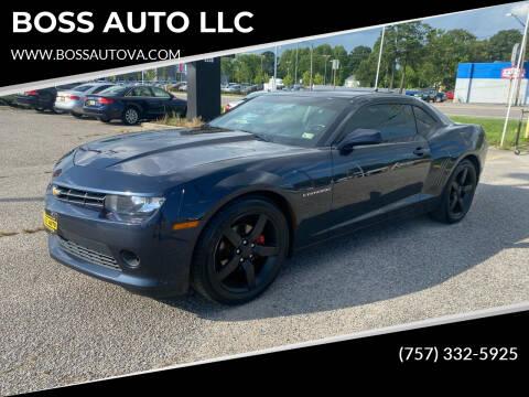 2014 Chevrolet Camaro for sale at BOSS AUTO LLC in Norfolk VA