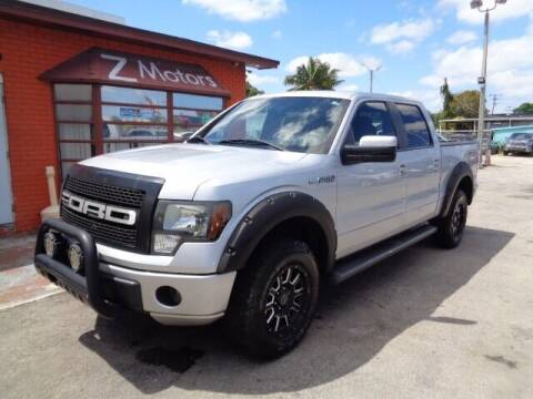 2011 Ford F-150 for sale at Z MOTORS INC in Hollywood FL