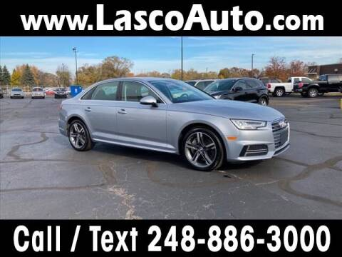 2018 Audi A4 for sale at Lasco of Waterford in Waterford MI