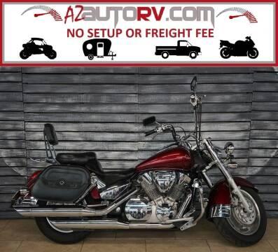 2006 Honda VTX1300R6 for sale at AZautorv.com in Mesa AZ