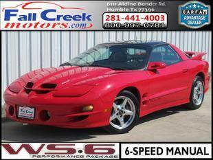 1998 Pontiac Firebird for sale at Fall Creek Motor Cars in Humble TX