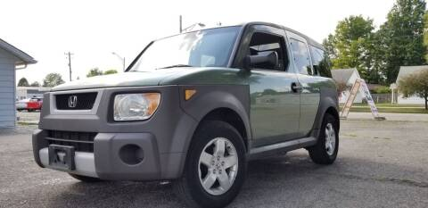2005 Honda Element for sale at Sinclair Auto Inc. in Pendleton IN