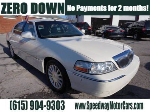 2007 Lincoln Town Car for sale at Speedway Motors in Murfreesboro TN