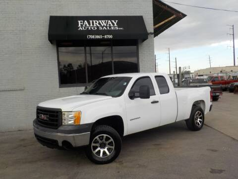 2011 GMC Sierra 1500 for sale at FAIRWAY AUTO SALES, INC. in Melrose Park IL