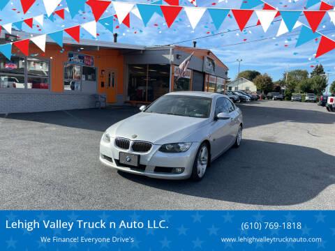 2008 BMW 3 Series for sale at Lehigh Valley Truck n Auto LLC. in Schnecksville PA