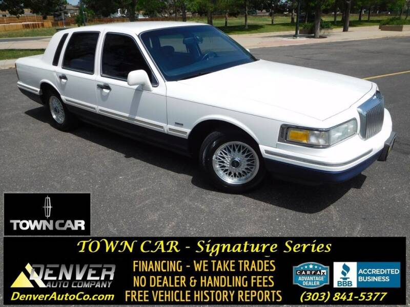 1995 Lincoln Town Car for sale in Parker, CO