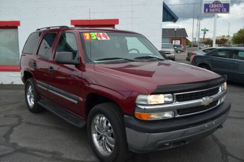 2004 Chevrolet Tahoe for sale at CARGILL U DRIVE USED CARS in Twin Falls ID