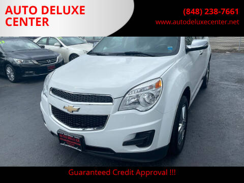 2014 Chevrolet Equinox for sale at AUTO DELUXE CENTER in Toms River NJ