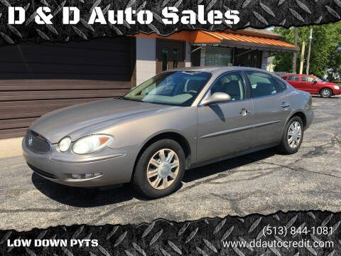 2007 Buick LaCrosse for sale at D & D Auto Sales in Hamilton OH