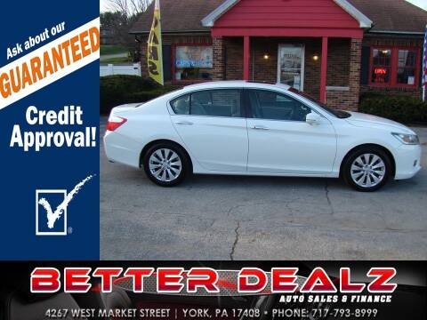 2013 Honda Accord for sale at Better Dealz Auto Sales & Finance in York PA